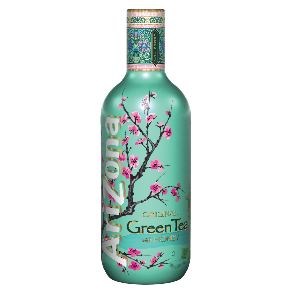 Bild von AriZona Green Tea with Honey  1,5L