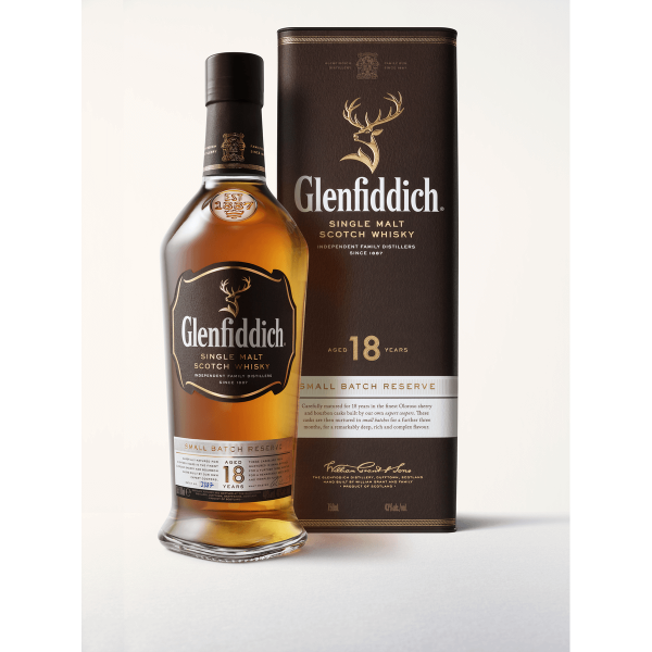 Bild von Glenfiddich Single Malt Scotch Whisky Small Batch Reserve 18 Years Old 40% GP 1 x 0,7L